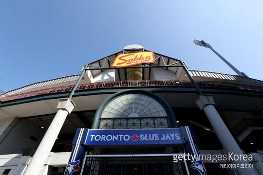 2020시즌 토론토의 임시 홈구장인 세일런 필드(사진=게티이미지 코리아)
