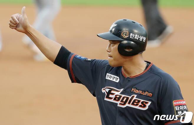 한화 이글스 최진행. /뉴스1 © News1 김진환 기자
