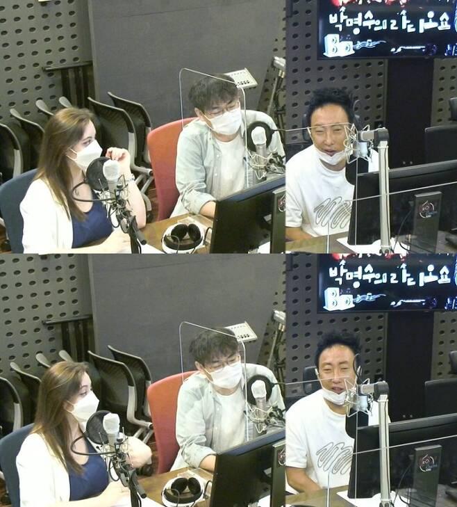 화면캡처=KBS 쿨FM '박명수의 라디오쇼' © 뉴스1