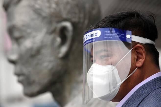 '제16차 전태일 50주기 캠페인'이 진행되고 있다. 김봉규 선임기자