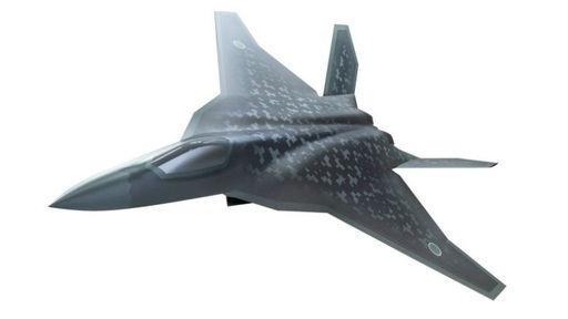 일본이 개발할 예정인 6세대 전투기 상상도. 일본은 자국에서 6세대 전투기를 만들 예정이다. 일본 방위성 제공
