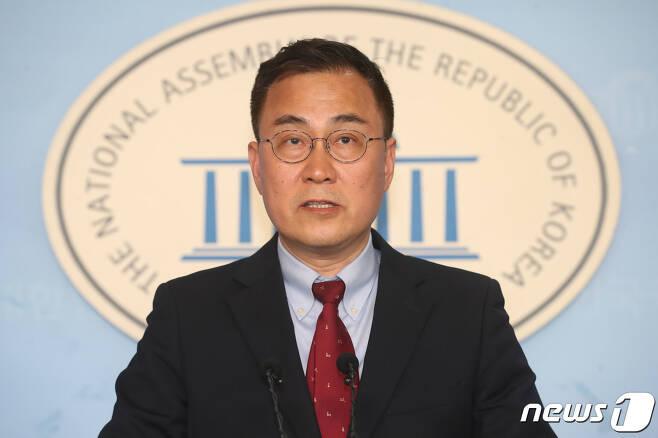 최형두 국민의힘 원내대변인  2020.3.17/뉴스1 © News1 임세영 기자