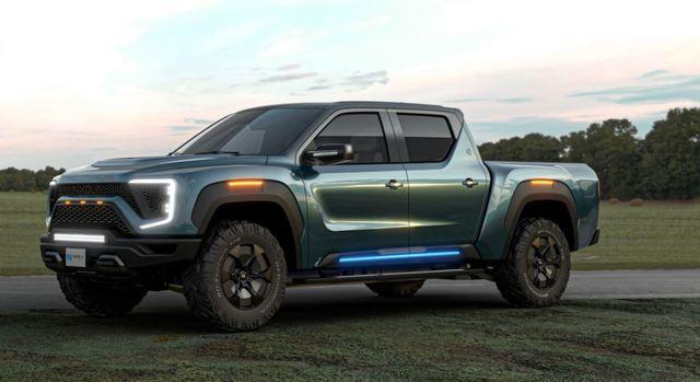 '제2의 테슬라'로 주목받던 미국 수소트럭 업체 니콜라의 트럭 '뱃저'