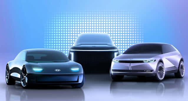 현대차가 앞으로 출시할 전기차 브랜드 명을 '아이오닉'으로 정했다. 앞으로 콘셉트카 프로페시, 45 등을 기반으로 전기차를 양산한다는 계획이다. (사진=현대차)