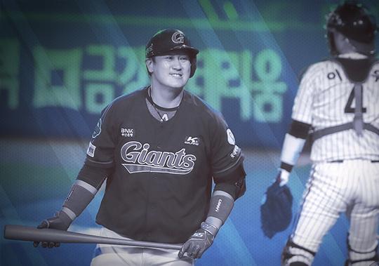 올 시즌 데뷔 이후 가장 부진한 시즌을 보내는 중인 이대호(사진=롯데)