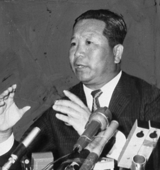 1968년 7월 20일 김형욱 중앙정보부장. 중앙포토