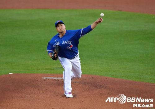 몬토요 감독은 류현진이 1차전에 나오지 않을 수도 있다고 말했다. 사진=ⓒAFPBBNews = News1