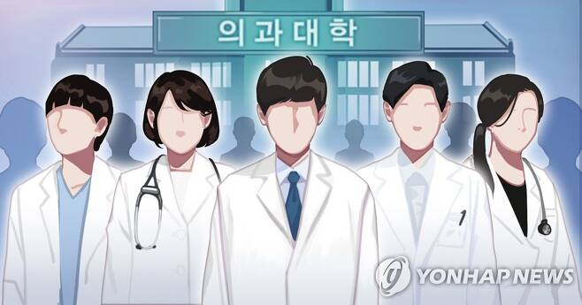 의대 정원 확대 (PG) [장현경 제작] 일러스트