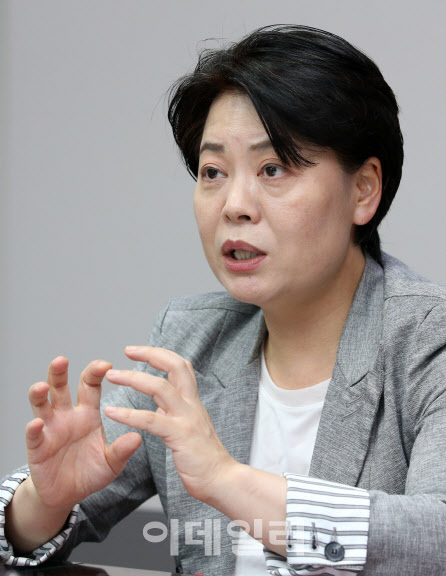 윤희숙 국민의힘 의원(당내 경제혁신특별위원회 위원장). (사진=방인권 기자)
