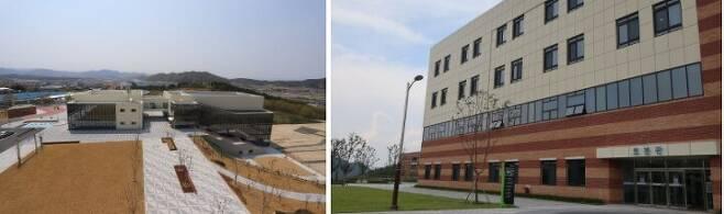 한국폴리텍 로봇캠퍼스 전경(왼쪽)과 로봇관 /한국폴리텍대학