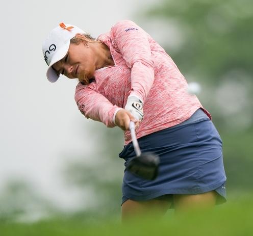 2020년 미국여자프로골프(LPGA) 투어 숍라이트 LPGA 클래식 골프대회에 출전한 로렌 스티븐슨. 사진제공=PGA of America