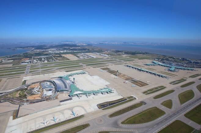 인천공항은 탑승구가 3개 건물로 나뉘어져 있다. [사진 인천공항]