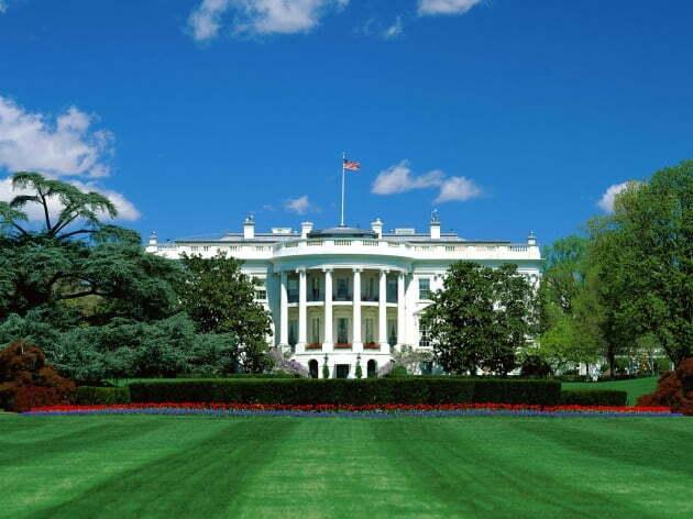 백악관 전경. 한경DB