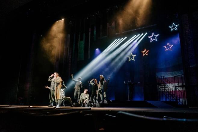 국립박물관문화재단의 창작뮤지컬 '백범'이 10월11일까지 국립중앙박물관 극장 '용'에서 공연된다.