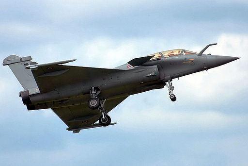 프랑스 공군 라팔 전투기가 이륙하고 있다. 세계일보 자료사진
