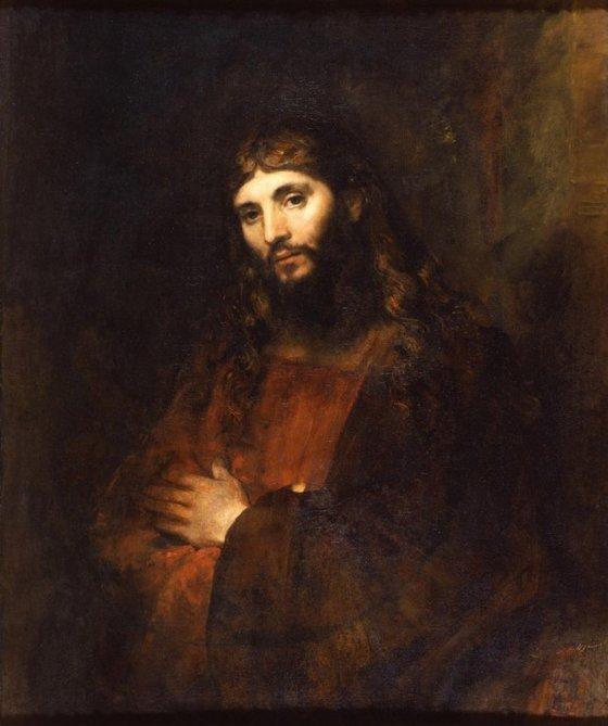 렘브란트는 예수의 초상화를 그리기 위해 3년간 유대인 마을에 살면서 그들의 공통적 생김새를 연구했다고 한다. 작품은 렘브란트가 그린 예수의 초상화. [중앙포토]