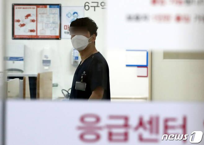 국립대학병원 응급실.© News1 김기태 기자