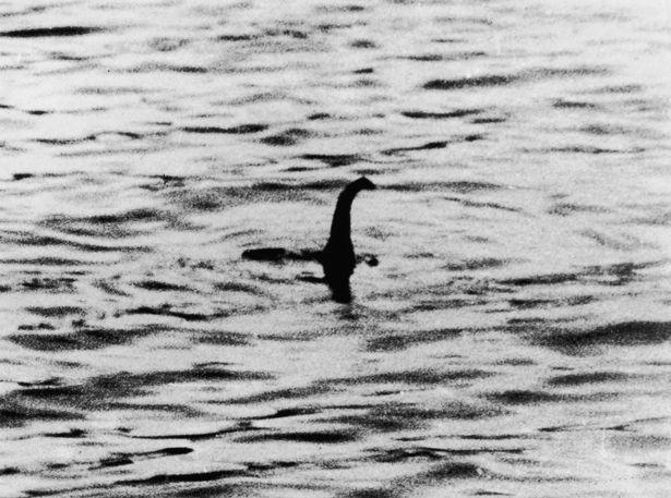 로버트 윌슨이 찍은 '네스호 괴물' 사진 [게티이미지. 재판매 및 DB금지.]