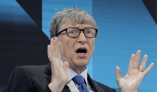 마이크로소프트 창업자인 빌 게이츠 빌&멀린다 게이츠 재단 이사장. AP=연합뉴스
