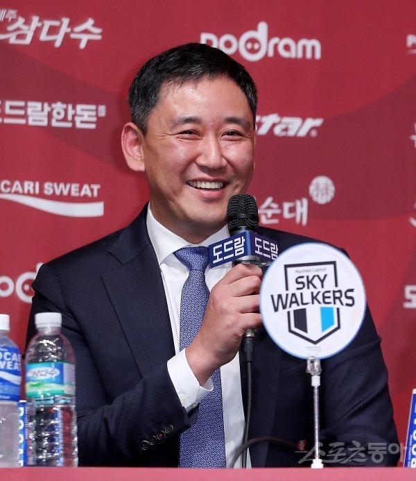 현대캐피탈 최태웅 감독. 스포츠동아DB