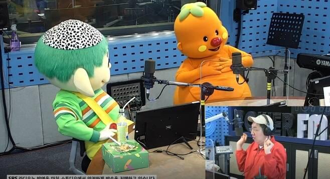 뚝딱이 뿡뿡이 김영철(사진 왼쪽부터)