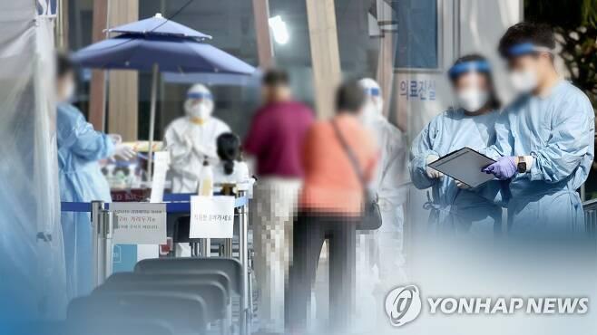 코로나19 확진자 증가(CG) [연합뉴스TV 제공]
