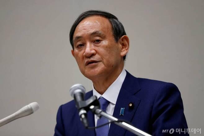 스가 요시히데 일본 총리 / 사진제공=로이터