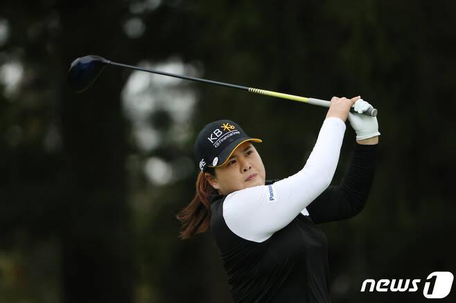 KPMG 위민스 PGA챔피언십서 준우승을 차지한 박인비. © AFP=뉴스1