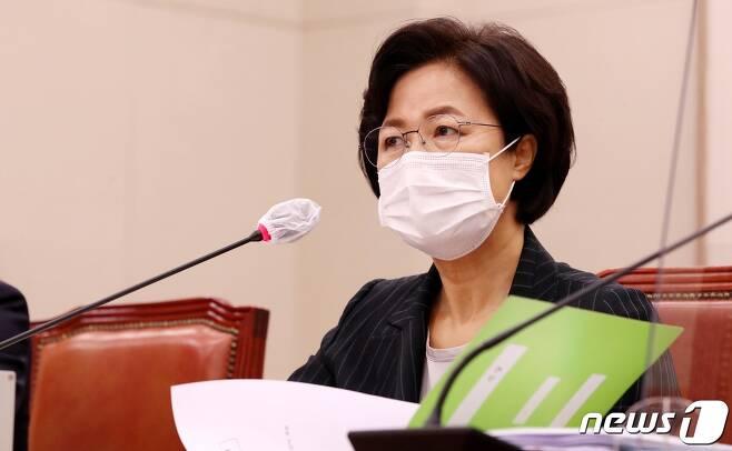 추미애 법무부 장관. 2020.10.12/뉴스1 © News1 신웅수 기자