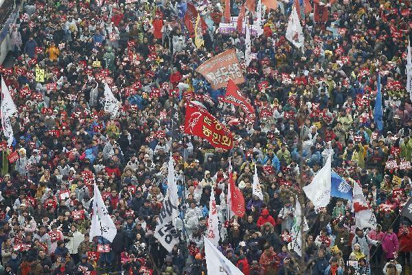 지난 2016년 11월 26일 범국민행동 집회 모습. /사진공동취재단