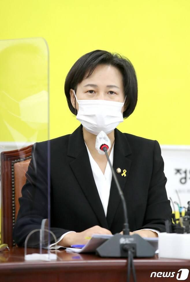 강은미 정의당 원내대표./사진=뉴스1