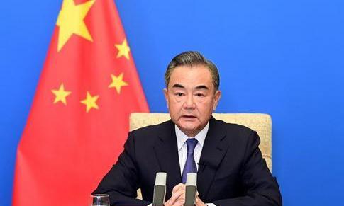 왕이 중국 외교담당 국무위. 중국 외교부 홈페이지 캡처