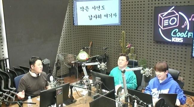 왼쪽부터 김구라, 윤정수, 남창희