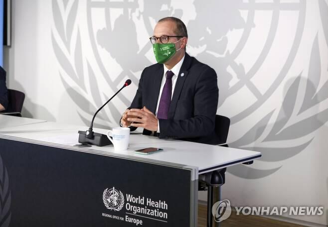 한스 클루게 세계보건기구(WHO) 유럽담당 국장 [AP=연합뉴스 자료사진]