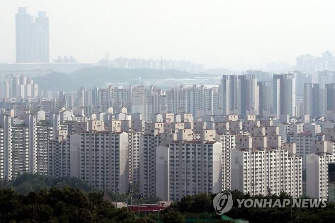 경기 수원시 영통구 일대 아파트 단지 [연합뉴스 자료사진]