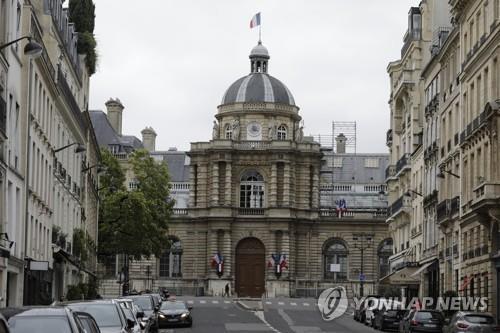 프랑스 상원이 있는 뤽상부르 궁전 [AP=연합뉴스 자료사진]