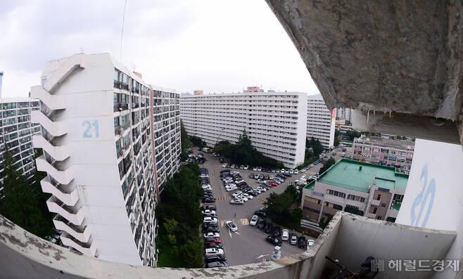 서울 강남구 대치동 아파트단지 모습 [헤럴드경제DB]