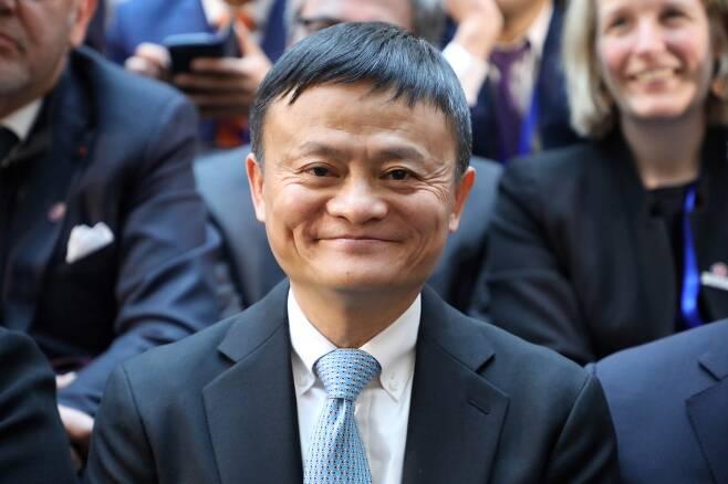 중국 최대 전자상거래업체인 알리바바의 마윈 창업자. /AFPBBNews=뉴스1