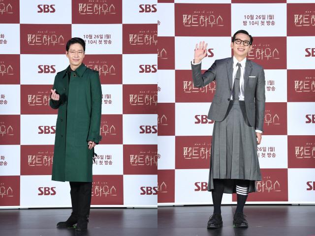 배우 엄기준과 봉태규. / 사진=SBS 제공
