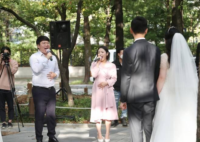 대전 서구 작은결혼식 [대전 서구 제공. 재판매 및 DB 금지]