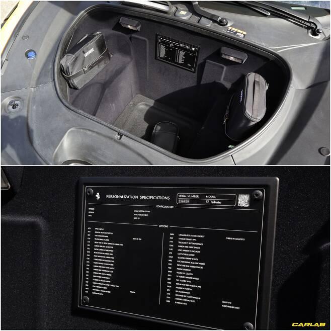 이날 동원된 F8 트리뷰토엔 값비싼 선택사양이 적용됐다