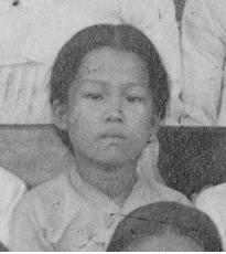 유관순 열사가 13세 때 찍은 것으로 추정되는 사진(단체 사진 중 발췌). 충남역사문화연구원 제공