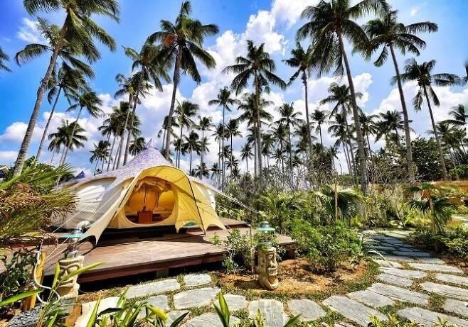엘니도 낙판해변. 필리핀관광부 제공