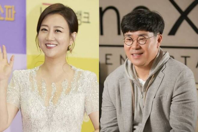 ▲ 장윤정(왼쪽), 조영수. 제공ㅣTV조선, 넥스타엔터테인먼트