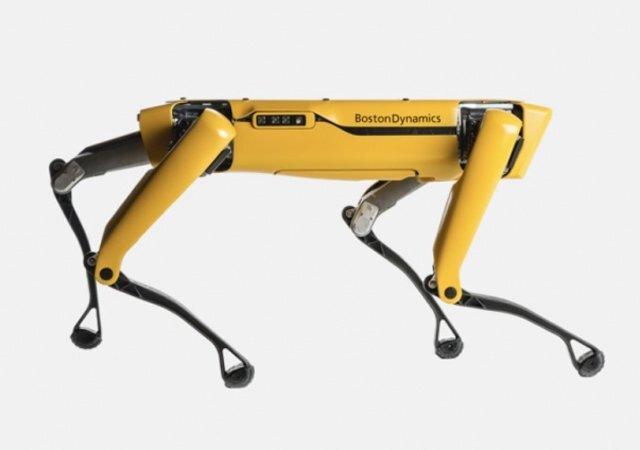 개를 닮은 로봇 '스팟'. 보스턴 다이내믹스 홈페이지