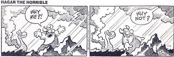 바이든 당선인이 수십 년간 간직해 온 만화. 그는 이 만화를 통해 불행은 누구에게나 닥칠 수 있다는 것을 깨달았다고 했다. [트위터 캡처]