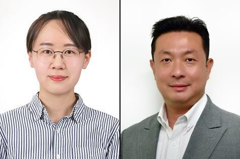 KIST 변지혜 박사(왼쪽)와 홍석원 단장 [한국과학기술연구원 제공. 재판매 및 DB 금지]