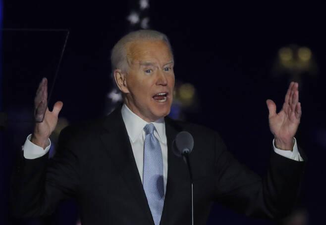 조 바이든 미국 대통령 당선인. [로이터]