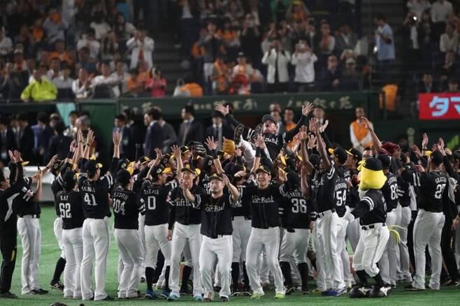 ▲ 소프트뱅크가 4년 연속 일본시리즈에 진출했다. 지난해에 이어 요미우리 자이언츠를 상대한다. ⓒ 소프트뱅크 호크스 홈페이지