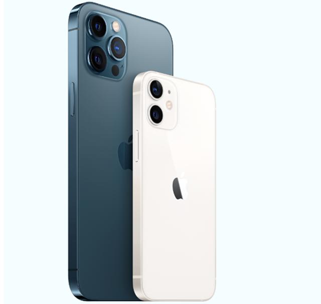 애플 '아이폰12 미니'에서 터치스크린이 부분적으로 반응하지 않는 문제가 발생하고 있다. /애플 제공